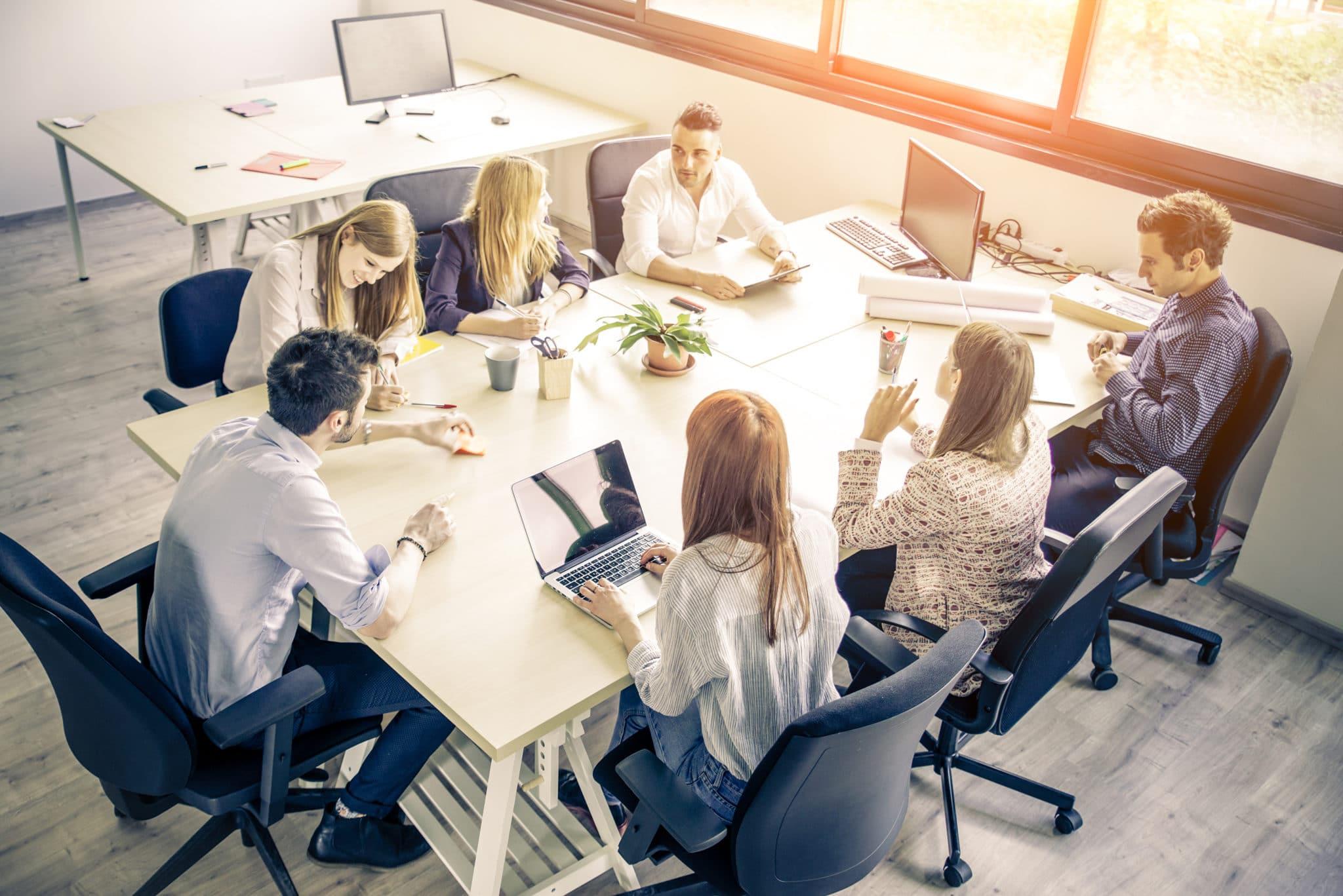 réunion du CSE, comité social et économique
